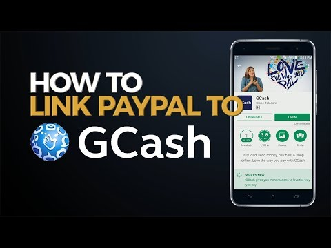 How to Link Paypal to GCash