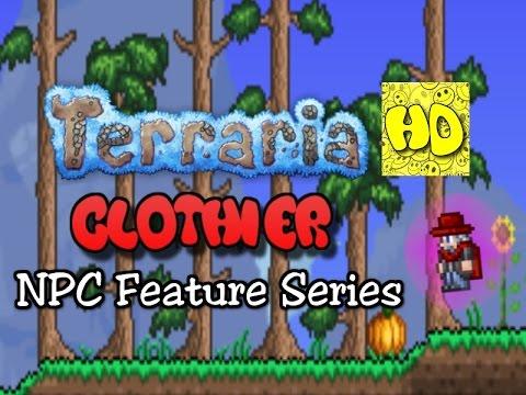 Terraria Feature Series Clothier NPC | new NPC tutorial