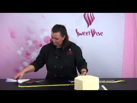 Layering Grease Proof Ribbons by www.SweetWise.com