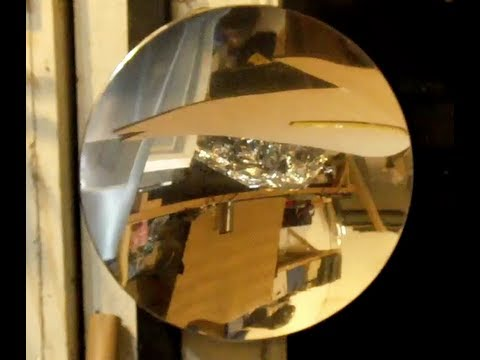 Trash can lid to Parabolic Mirror DIY telescope mirror Signal booster Faster 3G/4G