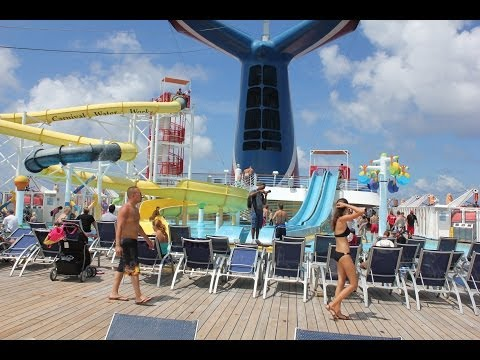 [HD] Tour of Carnival Cruise - Carnival Sensation - Carnival Inspiration Cruise Tour