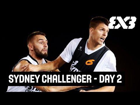 FIBA 3x3 Sydney Challenger 2018 - Re-Live - Day 2 - Sydney, Australia