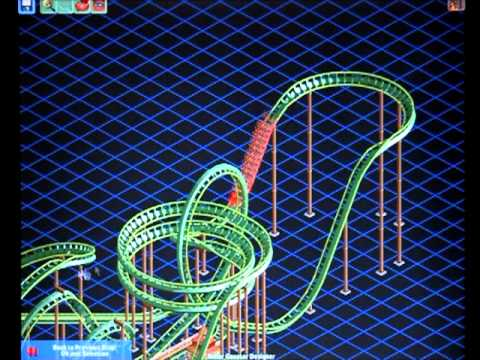 How To Build An Epic Roller Coaster In Roller Coaster Tycoon