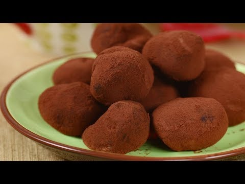 Milk Chocolate Truffles Recipe Demonstration - Joyofbaking.com
