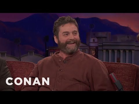 Zach Galifianakis Did Not Die  - CONAN on TBS