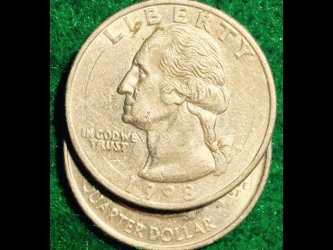 1998 Error Washington Quarters: Real vs Counterfeit