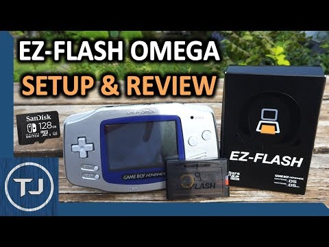 EZ-Flash Omega GBA Flashcard Review/Setup/Tutorial! 2018!