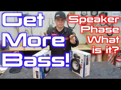 Speakers Make More BASS!! - What is and how to test