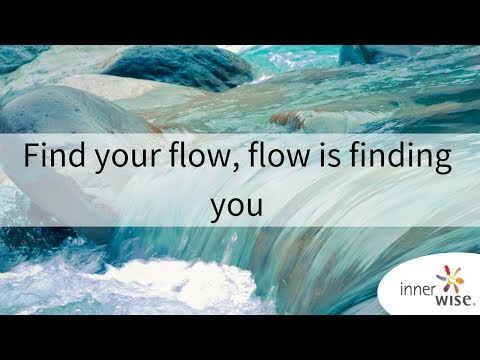 Find your flow, flow is finding you | innerwise | Uwe Albrecht