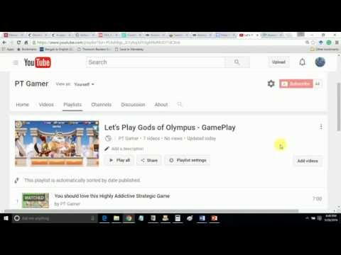How To Change Your Youtube Channel Playlists Thumbnail | Playlist Thumbnail 2016 Youtube