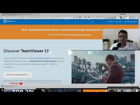 How to use TeamViewer 2018 for remote access control