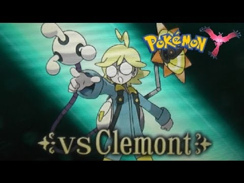 Pokemon X And Y - 3DS XL - Lumiose City - Fifth Gym - Clemont - Voltage Badge