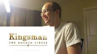Kingsman: The Golden Circle Official Trailer 1 REACTION!!!!