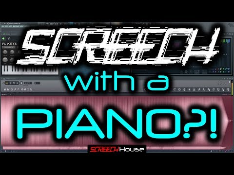 SCREECH PIANO TUTORIAL   How to Make Hardstyle Screech Effect Piano Scream FL Studio Hardstyle Piano