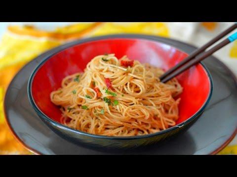 Vegan Thai Peanut Sauce & Noodles (Almond Butter)
