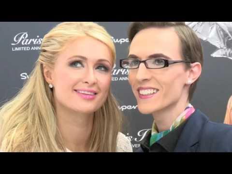 Paris Hilton UK Fragrance launch 2015