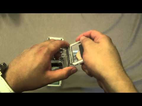 Changing the Back Door of the GoPro Hero 3 and 3+ Housing