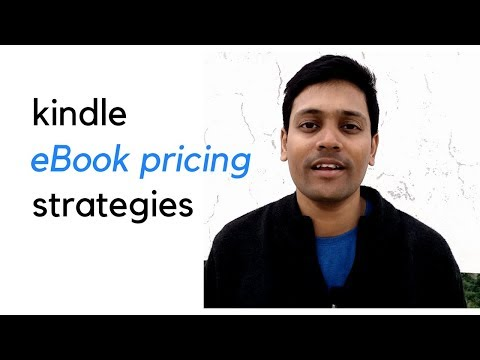 How to Price Your Kindle eBook