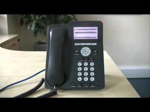 Forwarding calls - Avaya IP Office 96 series telephone (Britannic Technologies)