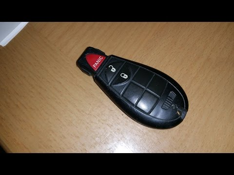 Dodge Grand Caravan key fob battery replacement