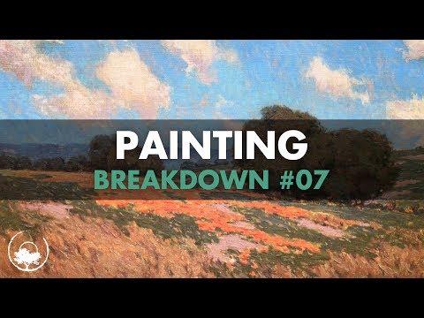 Granville Redmond - Painting Breakdown #07