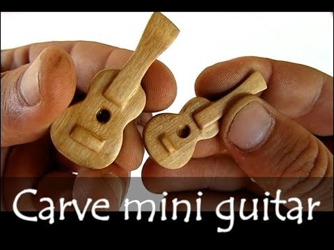 How to Carve guitar
