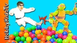 Ninja Turtles Surprise Ball Pit withHobbyKarate