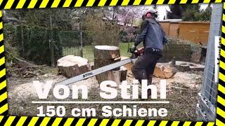 Nur Probleme Mit 150er Schwert Von Stihl