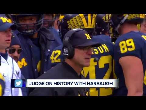 Yankees star Aaron Judge said Jim Harbaugh recruited him to play football instead of baseball