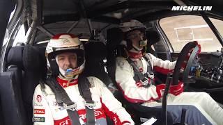 Breen testing - 2018 WRC Rallye Monte-Carlo - Michelin Motorsport