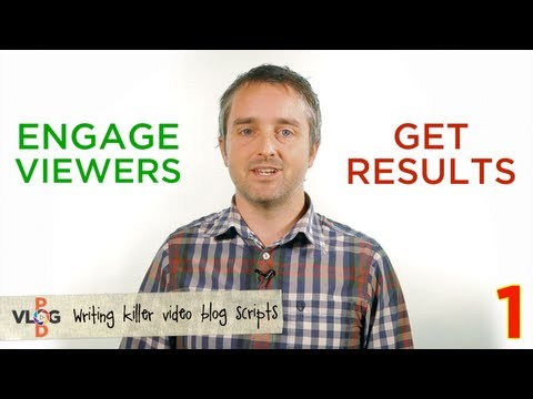 How to Write A Killer Video Blog Script - Vlog Pod // Video Content Marketing Made Easy