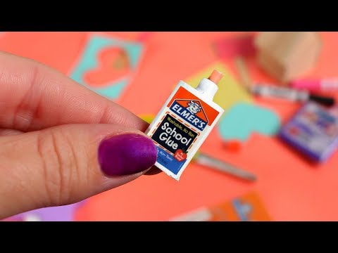 DIY American Girl School Glue