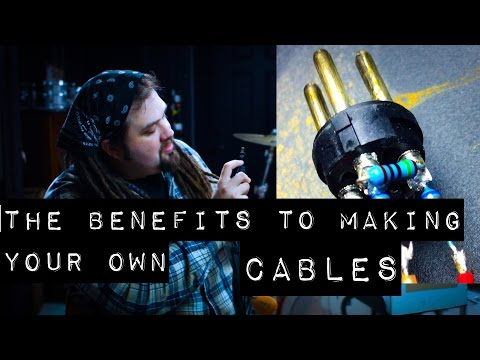 The Benefits to Making Your Own Cables