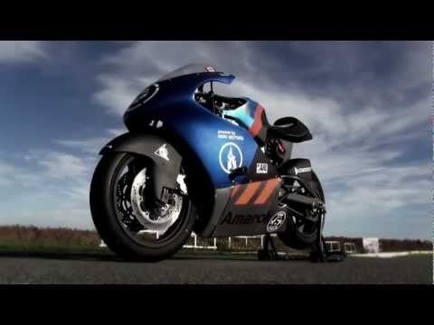 Amarok racing - Canadian electric race motorcycle