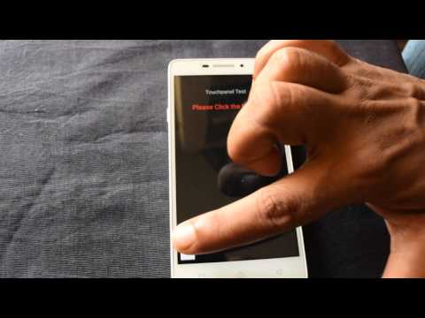 Lenovo Vibe P1m Touchpanel Test