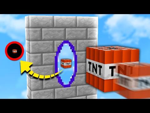 PORTAL GUN MOD in TNT WARS! | Minecraft MODDED TNT WARS