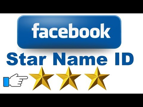 How to create Star ⭐ Name Facebook Account 2018