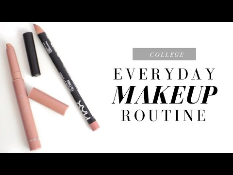 Everyday Makeup Routine | College