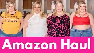 Amazon Plus Size Haul: Shirts + Dresses + Songs