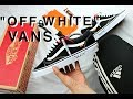 OFF WHITE VANS DIY