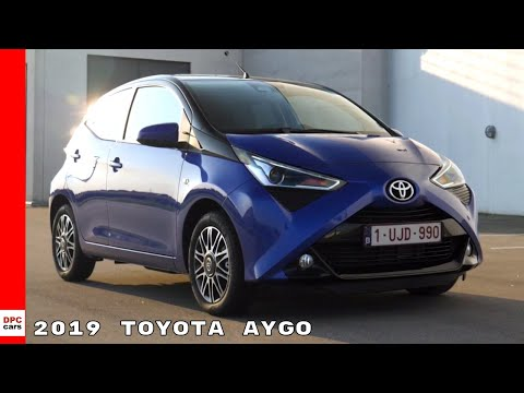 2019 Toyota Aygo Blue Exterior, Interior, Drive