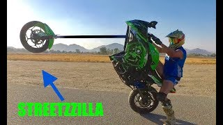 SHREDDING STREETZZILLA   (TO THE LIMITS)
