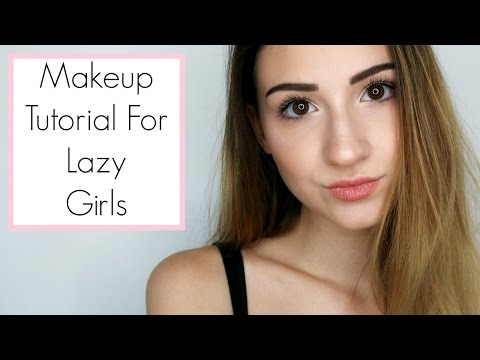 Back To School Makeup Tutorial: Lazy Girl Edition || BeautyChickee