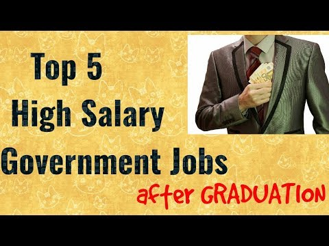 Best Government Jobs After Graduation