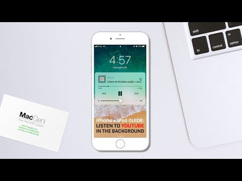 Listen to YouTube audio in the background on iPhone