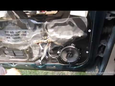 How To Change The Door Speakers On A 1995-1998 Chevy C/K Pickup & GMC Sierra