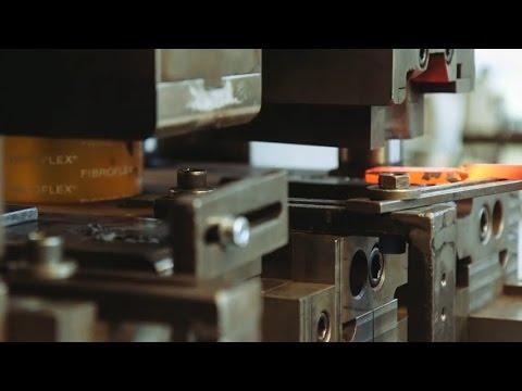 Eibach® Stabilizer Sway Bars Being Made