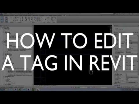 How to Edit a Tag in Revit