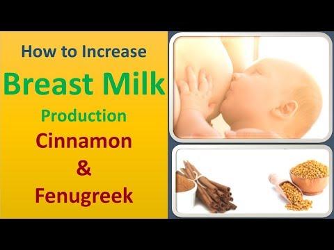 How to Increase Breast Milk Production | Cinnamon & Fenugreek