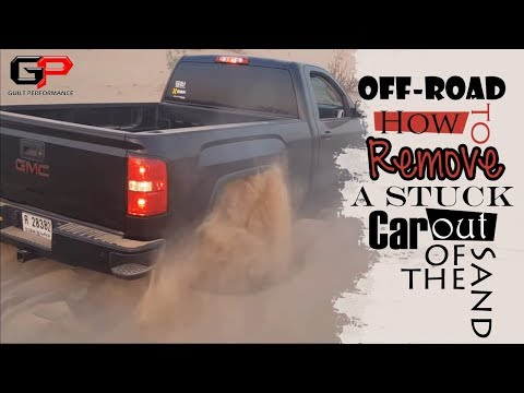How to Remove a Stuck Car out of the Sand
